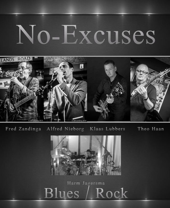 No-Excuses @ Muziekcafe de Tibbe | Sappemeer | Groningen | Nederland